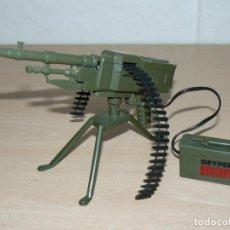 Geyperman: GEYPERMAN AMETRALLADORA ELECTRICA REF. 7402 MACHINE GUN AÑOS 70 1/6 AÑOS 70 ACTION MAN GI JOE 1:6. Lote 245080570