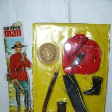 Geyperman: GEYPERMAN UNIFORME POLICIA MONTADA DEL CANADA REF. 7101-1 GEYPER 1/6 AÑOS 70 ACTION MAN GI JOE 1:6. Lote 245092980
