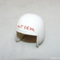 Geyperman: 35- GEYPERMAN CASCO PILOTO RED DEVIL DIABLOS ROJOS 1/6 AÑOS 70 ACTION MAN GI JOE 1:6. Lote 245293145