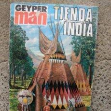 Geyperman: TIENDA INDIA DE GEYPERMAN - INDIAN TIPI - AÑOS 70 EN CAJA BOLSA INTERIOR AÚN PRECINTADA. Lote 246007030