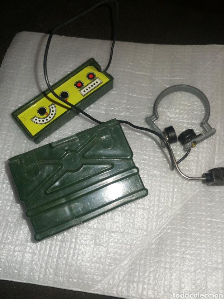 GEYPERMAN, EQUIPO RADIO TRANSMISIONES CON AURICULARES. AÑOS 70,PRIMERA GENERACIÓN. (Juguetes - Figuras de Acción - Geyperman)