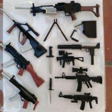 Geyperman: GRAN LOTE VARIAS ARMAS SUBFUSILES,ARMAS CORTAS PISTOLA ETC PARA FIGURAS TAMAÑO GEYPERMAN ACTION MAN. Lote 255984240