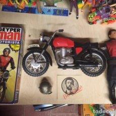 Geyperman: GEYPERMAN MOTORISTA 100% ORIGINAL CON CAJA Y MOTO, TODO ORIGINAL. Lote 257525585