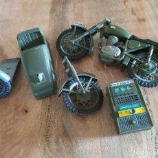 Geyperman: PIEZAS PARA RECAMBIOS MOTO Y SIDECAR DE GEYPERMAN Y RADIO QUE NO FUNCIONA. Lote 268938349