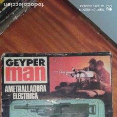 Geyperman: AMETRALLADORA ELÉCTRICA DE GEYPERMAN.. NUEVA EN SU CAJA.. Lote 295614403