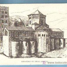 Grabados : GRABADO MONASTERIO DE RIPOLL (GERONA). 16 X 24 CM. Lote 23934699
