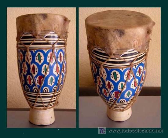 LIBIA / PEQUEÑO TAMBOR AMAZIGH (BEREBER) (Música - Instrumentos Musicales - Percusión)