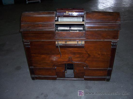 ANTIGUA PIANOLA (Música - Instrumentos Musicales - Pianos Antiguos)