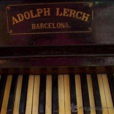 Instrumentos musicales: PIANO. Lote 14654338
