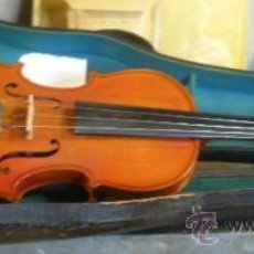 Instrumentos musicales: VIOLÍN EN SU FUNDA. Lote 23331113
