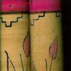 Instrumentos musicales: PALOS MUSICALES MEXICANOS. HECHOS Y PINTADOS A MANO EN MÉXICO. MEDIDAS: 20 X 3 CM.. Lote 26060475