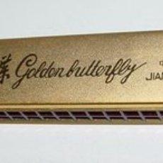 Instrumentos musicales: ANTIGUA ARMONICA CON SU CAJA ORIGINAL NUEVA A ESTRENAR - NUNCA TOCADA - JIANGSU CHINA - GOLDEN BUTTE. Lote 27445214