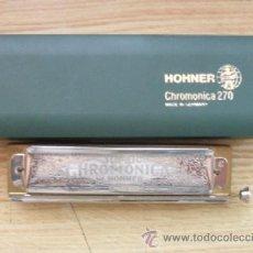 Instrumentos musicales: ARMONICA HOHNER CHROMONICA 270 HARMONICA-55. Lote 14124094