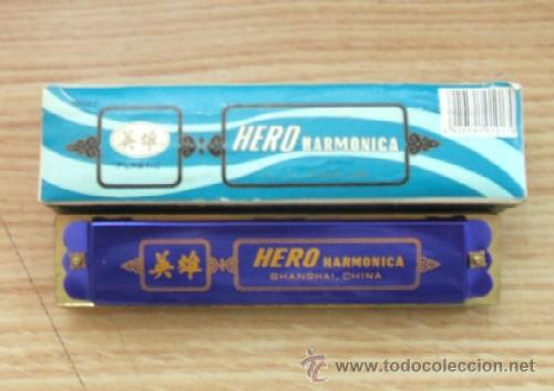 ARMONICA ANTIGUA HERO (Música - Instrumentos Musicales - Viento Metal)