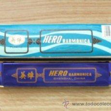 Instrumentos musicales: ARMONICA ANTIGUA HERO. Lote 14124111