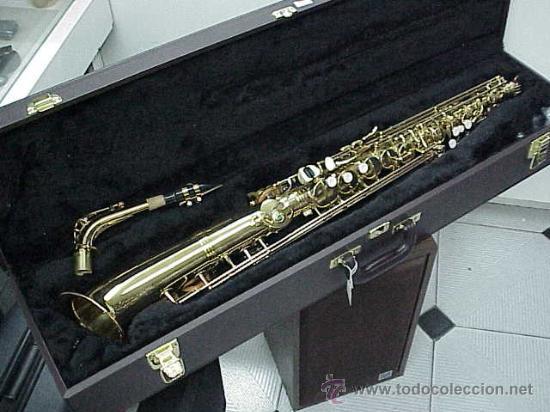 MUY ESPECIAL,HECHO DE ENCARGO.SAXO ALTO RECTO BETTER SOUND (Música - Instrumentos Musicales - Viento Madera)