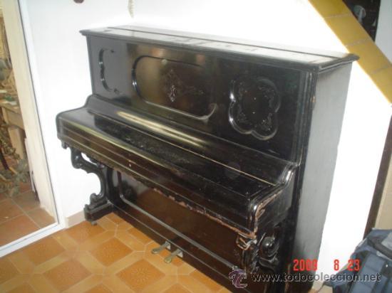 PIANO ALEMAN (Música - Instrumentos Musicales - Pianos Antiguos)