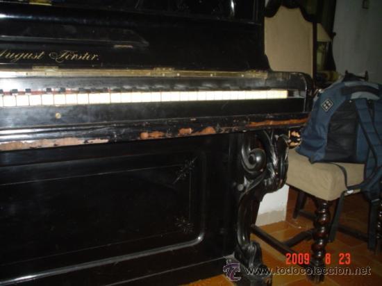 Instrumentos musicales: PIANO ALEMAN - Foto 7 - 33116102