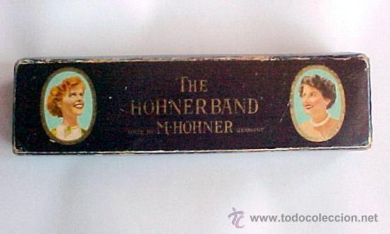 Instrumentos musicales: vista exterior de la caja de la armonica - Foto 2 - 26425293