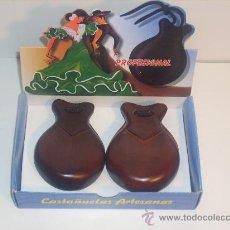 Instrumentos musicales: CASTAÑUELAS ARTESANAS. Lote 26572683
