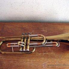 Instrumentos musicales: TROMPETA GETZEN EN FA / MI B. Lote 89502376