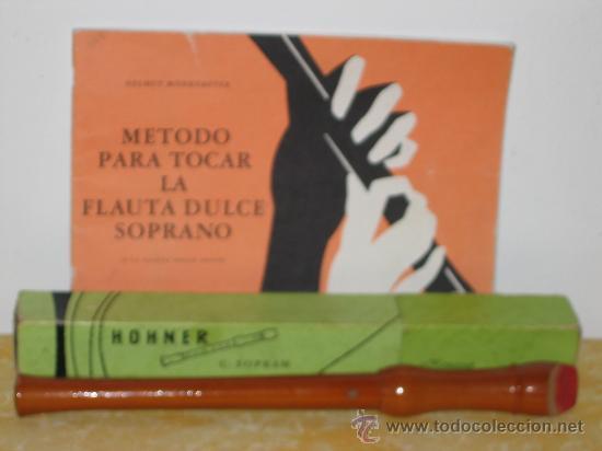 Instrumentos musicales: FLAUTA DULCE HONNER (ALEMANIA) Y MÉTODO DE INTERPRETACIÓN. - Foto 4 - 26439413