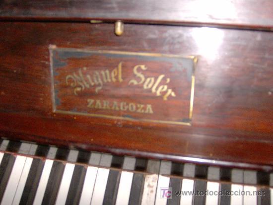 Instrumentos musicales: EXCELENTE PIANO VERTICAL EN PALO SANTO ( MIGUEL SOLER ) - Foto 2 - 20578656