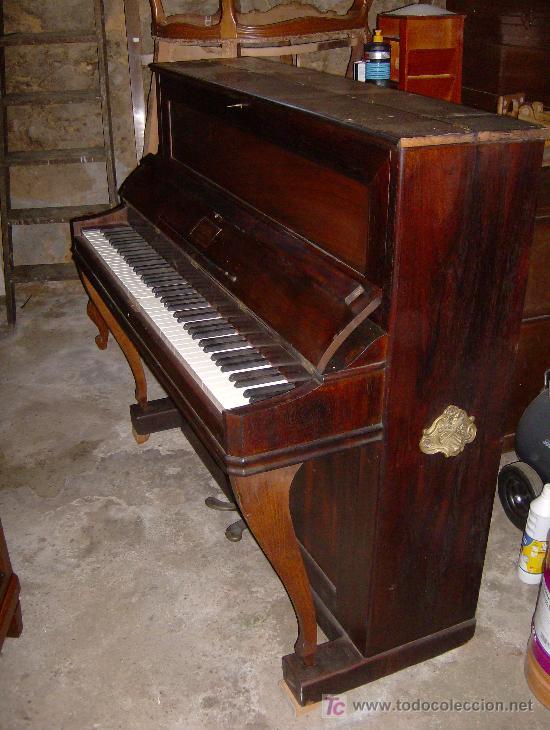 Instrumentos musicales: EXCELENTE PIANO VERTICAL EN PALO SANTO ( MIGUEL SOLER ) - Foto 3 - 20578656