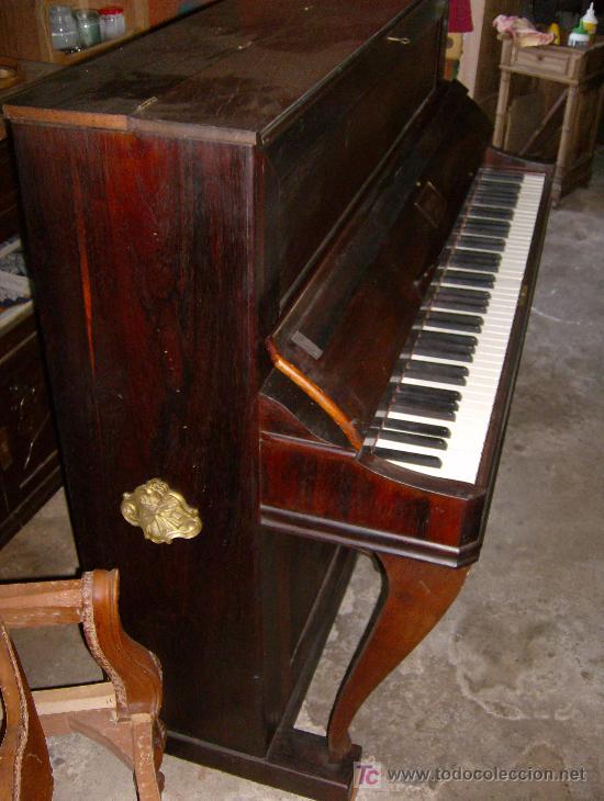 Instrumentos musicales: EXCELENTE PIANO VERTICAL EN PALO SANTO ( MIGUEL SOLER ) - Foto 4 - 20578656