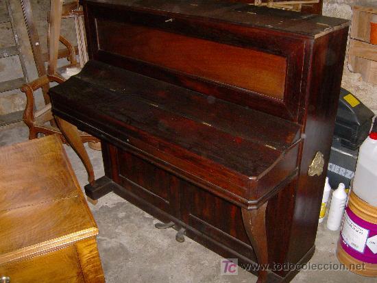 Instrumentos musicales: EXCELENTE PIANO VERTICAL EN PALO SANTO ( MIGUEL SOLER ) - Foto 5 - 20578656