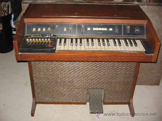 ORGANO DE MUSEO (Música - Instrumentos Musicales - Teclados Eléctricos y Digitales)
