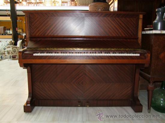 PIANO VERTICAL,ELCKE REF.4429 (Música - Instrumentos Musicales - Pianos Antiguos)