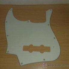 Instrumentos musicales: GOLPEADOR(PICKGUARD) DE BAJO PARA ZURDOS FENDER JAZZ BASS. Lote 26533864
