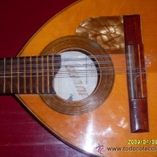 Instrumentos musicales: BANDURRIA ANTIGUA. MARCA JULIA ESTEVE. VALENCIA.. Lote 27213044