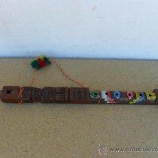 Instrumentos musicales: FLAUTA DE MADERA DE SUDAMERICANA. Lote 27497757