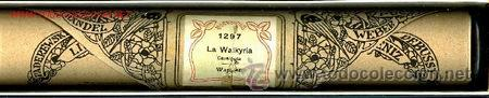 LA WALKYRIA: DE WAGNER. ROLLO DE PIANOLA. (Música - Instrumentos Musicales - Accesorios)
