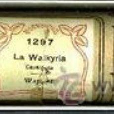 Instrumentos musicales: LA WALKYRIA: DE WAGNER. ROLLO DE PIANOLA.. Lote 27787571