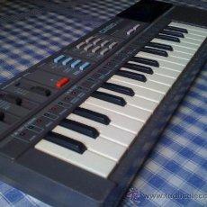 Instrumentos musicales: TECLADO ELECTRÓNICO CASIO PT-87 GRIS - ORGANO PIANO VINTAGE FUNCIONANDO CORRECTAMENTE. Lote 27989842
