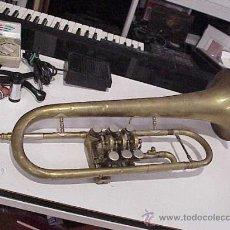 Instrumentos musicales: FLISCORNO MUY ANTIGÜO PIEZA DE MUSEO,HECHO EN BARCELONA. Lote 28170862