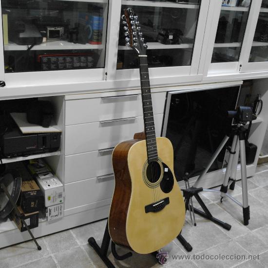 GUITARRA ACUSTICA SAMICK ESPECIAL 12 CUERDAS.MODELO D-2-12.GREG BENNET. (Música - Instrumentos Musicales - Guitarras Antiguas)