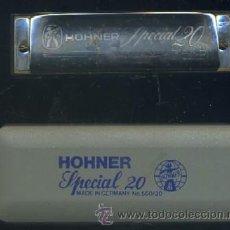Instrumentos musicales: ARMONICA HOHNER SPECIAL 20 Nº 560 LETRA F RF-81 HARMONICA-67. Lote 28425674