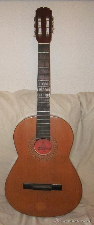 GUITARRA ESPAÑOLA,MARCA RITMO (Música - Instrumentos Musicales - Guitarras Antiguas)