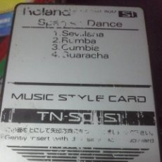 Instruments Musicaux: TARJETA DE SONIDO ROLAND DATA ROM PARA TECLADOS TN-SC1-S1. Lote 28907370