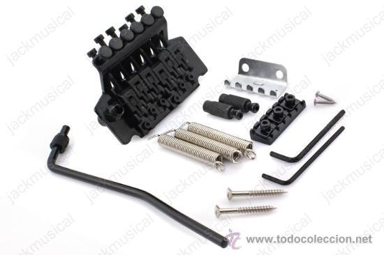 Instrumentos musicales: Puente FLOYD ROSE Lic. Color Negro, Nuevo - Foto 2 - 29267925