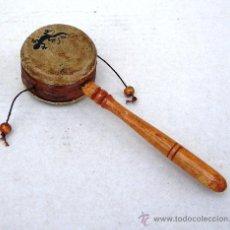 Instrumentos musicales: DENDEM TACA TACA O TAMBOR DE BOLAS, INSTRUMENTO MUSICAL ,,,INST365. Lote 122879784