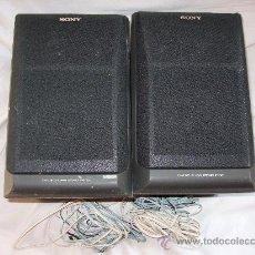 Instrumentos musicales: 2 ALTAVOCES - SONY BASS REFLEX 3WAY SPEAKER SYSTEM - MODELO SS-H 1600 - IMPEDANCIA 6 OHM - 60W. Lote 29722749