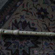 Instrumentos musicales: FLAUTA DULCE. Lote 29751142