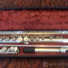 Instrumentos musicales: FLAUTA TRAVESERA . Lote 30111664