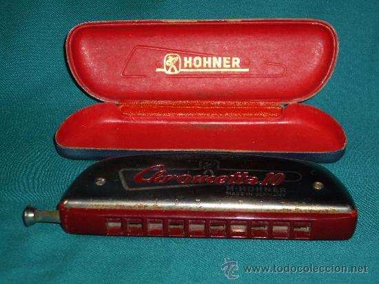 Instrumentos musicales: ARMONICA M.HOHNER - C - CHROMETTA 10 - - Foto 4 - 42182351