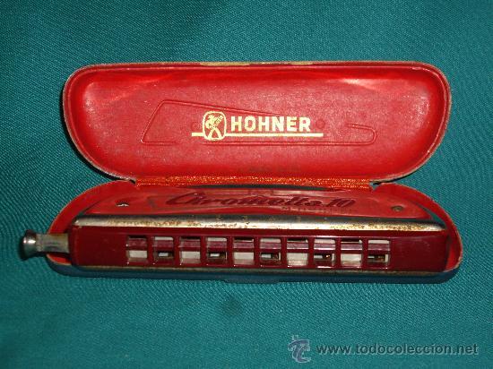 Instrumentos musicales: ARMONICA M.HOHNER - C - CHROMETTA 10 - - Foto 5 - 42182351